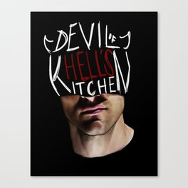 The Devil of Hell's Kitchen Canvas Print
