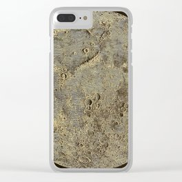 Astronomy for the Use of Schools and Academies (1882) - Model of the Moon by Nasmyth Clear iPhone Case