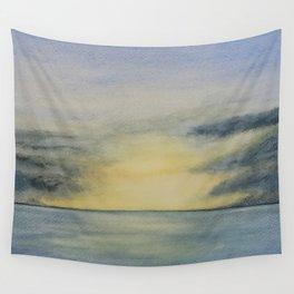 Sky and Ocean II Wall Tapestry