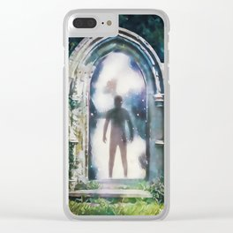 Something Wicked This Way Comes Clear iPhone Case