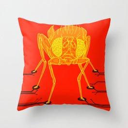 Drosophila: Computational neuroscience Throw Pillow