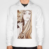 mucha Hoodies featuring My Mucha by Little Bunny Sunshine