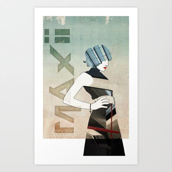 Maxii Girl Art Print