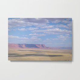 Vermillion Plains Metal Print
