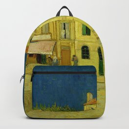 Vincent Van Gogh - The Yellow House Backpack