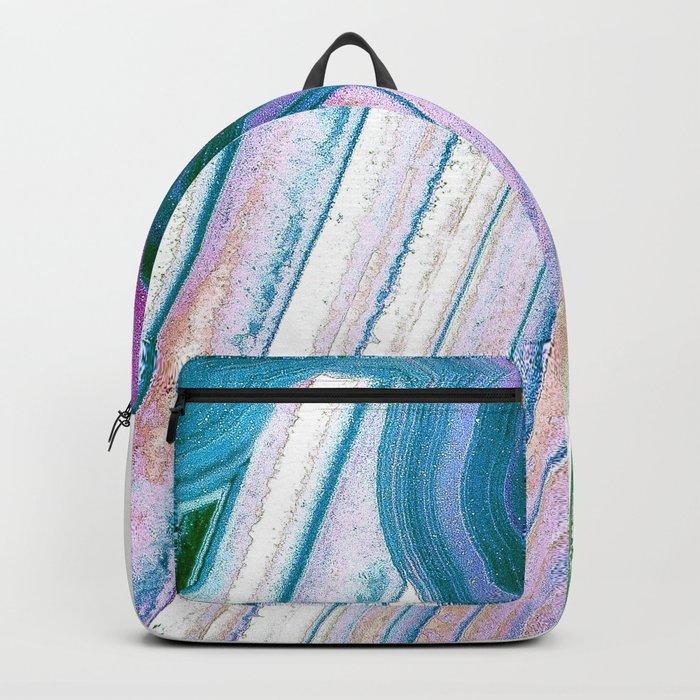 Agate Geode Backpack