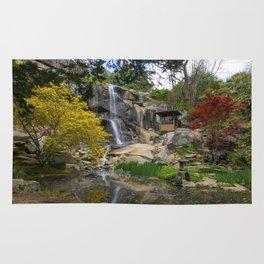 Waterfall at Maymont Park Rug
