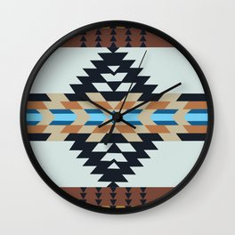 American Native Pattern No. 133 Wall Clock