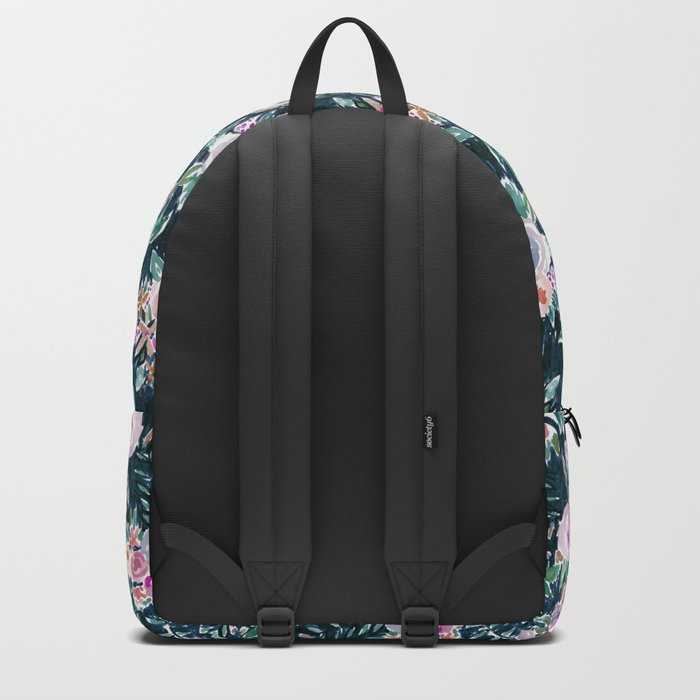 Midnight PROFUSION FLORAL Backpack