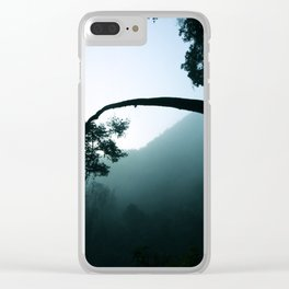 Mist Tilt Clear iPhone Case