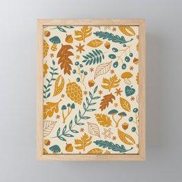 Autumn Foliage Framed Mini Art Print