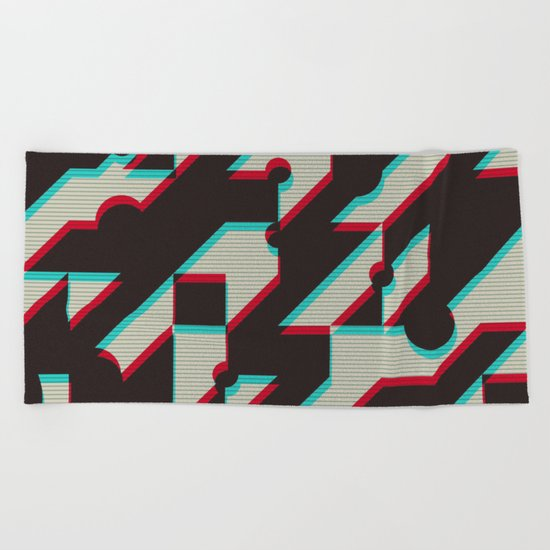 Trend Me Up Beach Towel