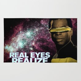 Geordi: Real Eyes Realize Rug