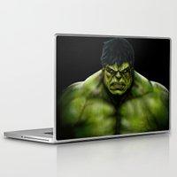 hulk Laptop & iPad Skins featuring Hulk by Fila Venom Art