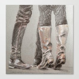 Tiptoes Canvas Print