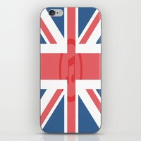 england iPhone & iPod Skins featuring  England by XKbeth