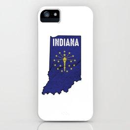 Patriotic Hoosiers Indiana Flag Nationalism United States Of America  iPhone Case