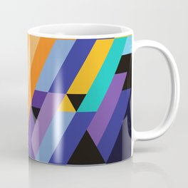 Flat Geometry 01 Coffee Mug