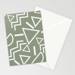 Shapes- lost and found Stationery Cards