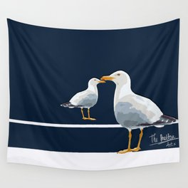 Two seaguls Wall Tapestry