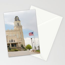 Manti Utah LDS Temple Stationery Cards