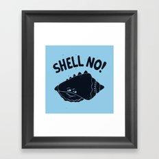 (S)HELL Framed Art Print