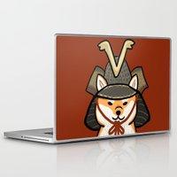shiba Laptop & iPad Skins featuring Shiba Inu by Lottie