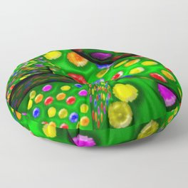 Colorful toys ... Floor Pillow