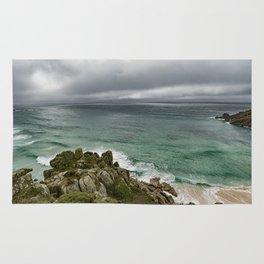 Stormy Cornish morning. Rug