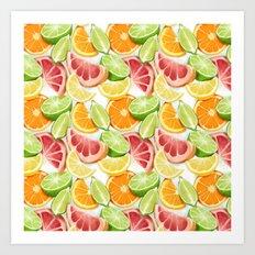 Citrus Art Print