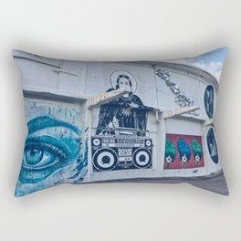 Boardwalk Art Rectangular Pillow