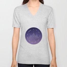 To The Stars Who Listen And The Dreams That Are Answered Unisex V-Neck
