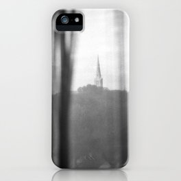 Chapel on a hill. iPhone Case