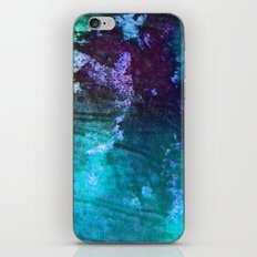 Blue Stems iPhone & iPod Skin