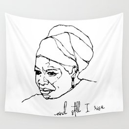 and still I rise Wall Tapestry