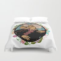 twins Duvet Covers featuring Twins by Nina Twin
