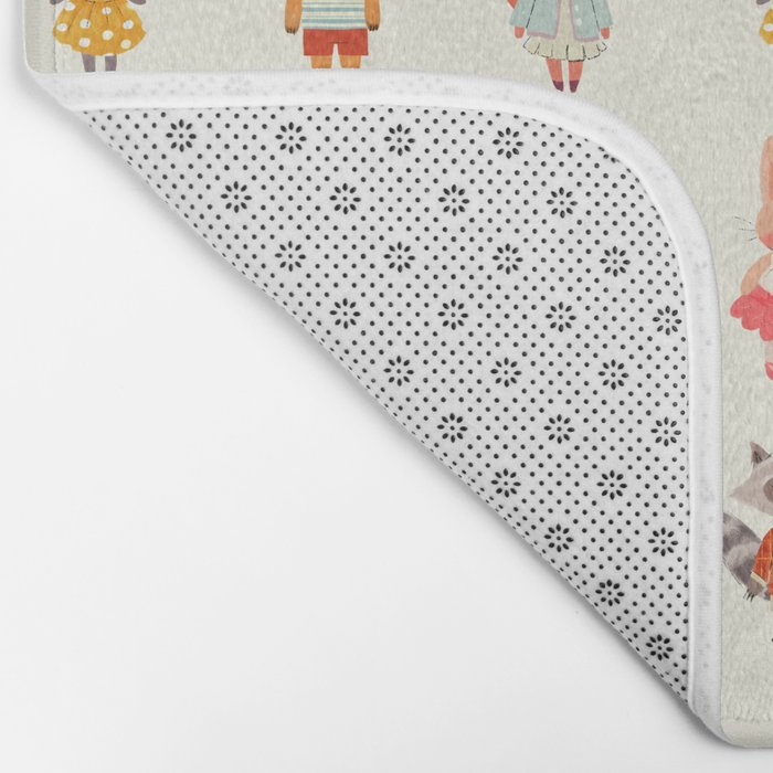 Animal Fashion Bath Mat