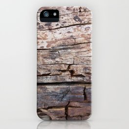 Drift Wood iPhone Case