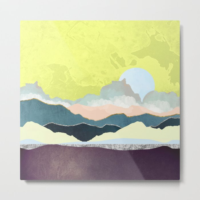 Pastel Afternoon Metal Print