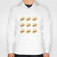 hamburger Hoodies featuring Hamburger by Berta Merlotte