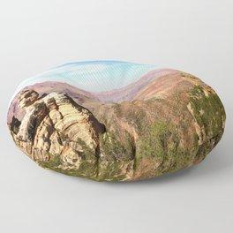 South Rim Grand Canyon Floor Pillow