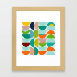 shapes abstract III Framed Art Print