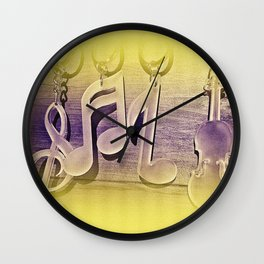All for music!.    www.lavitamusicgifts.blogspot.com  Wall Clock