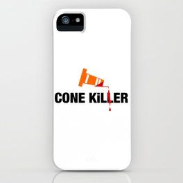 Cone Killer v2 HQvector iPhone Case
