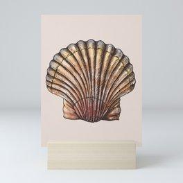 Watercolor Seashell Mini Art Print
