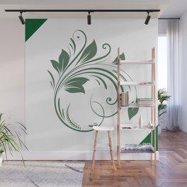 A leaf Wall Mural