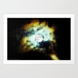 The Darkness Comes Art Print