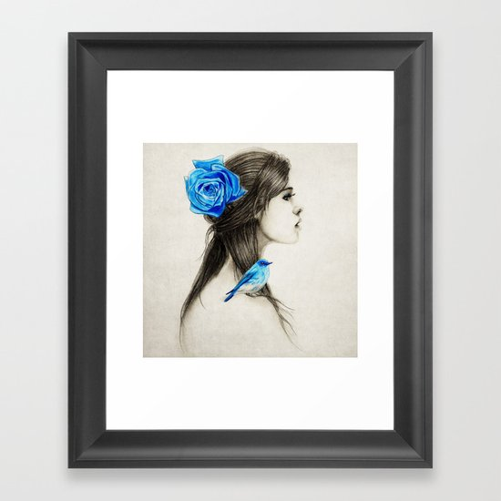 .Dejection Framed Art Print