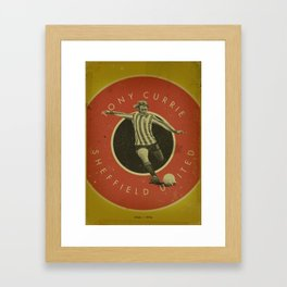 Sheffield United - Currie Framed Art Print