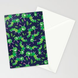 Bugs in Space Stationery Cards